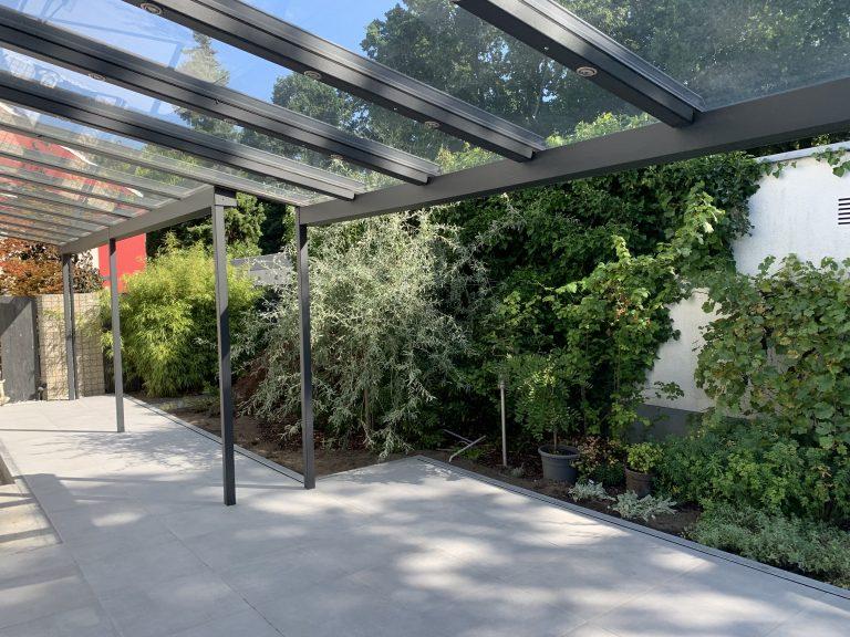 Tewes-Kampelmann Galabau Herne Neuanlage in Herne mit Bepflanzung Pflasterarbeiten Sichtschutz - Keramikterrasse in Herne Eickel (1)