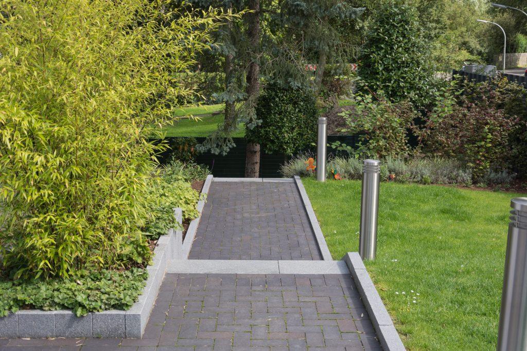 Tewes-Kampelmann Galabau Herne Neuanlage in Herne mit Bepflanzung Pflasterarbeiten Sichtschutz - Privatgarten 2 in Herne (34)
