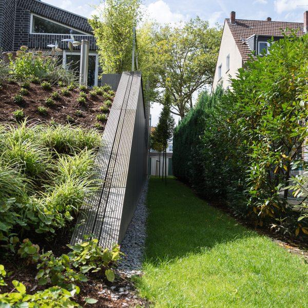 Tewes-Kampelmann Galabau Herne Neuanlage in Herne mit Bepflanzung Pflasterarbeiten Sichtschutz - Privatgarten 2 in Herne (44)