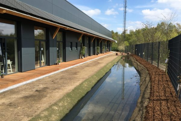 Tewes-Kampelmann Galabau Herne Neuanlage in Herne mit Bepflanzung Pflasterarbeiten Sichtschutz - kunstpark GmbH in Herne (2)