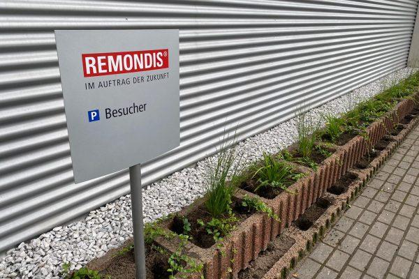 Tewes-Kampelmann Galabau Herne_Firma Remondis in Herne_Bepflanzung (1)