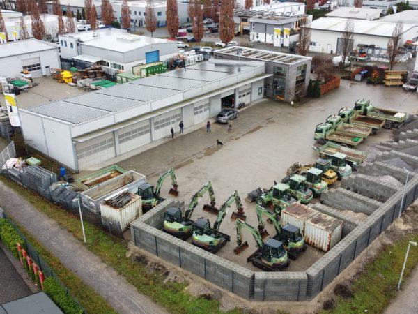 Tewes-Kampelmann Garten- und Landschaftsbau GmbH in Herne Unternehmen Lagerplatz Betriebshof (2)