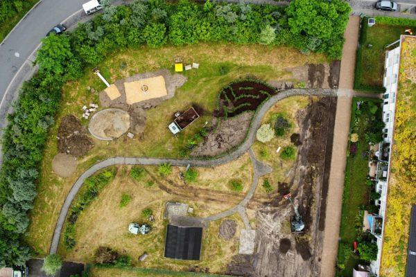 Tewes-Kampelmann Garten- und Landschaftsbau aus Herne - GaLaBau Wohnungsverein Herne Gemeinschaftsgarten Herne Süd (1)