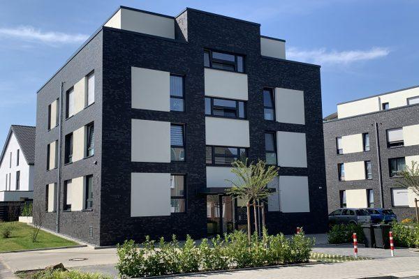 Tewes-Kampelmann in Herne Bauvorhaben Castroper Straße mit Pflasterarbeiten Bepflanzung Sichtschutz Terrassen (20)